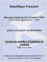 License de Membre d'Équipage de Conduite